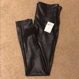 NWT Spanx Faux Leather Leggings